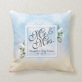 Almofada Travesseiro decorativo do Sr. & da Sra. Elegante