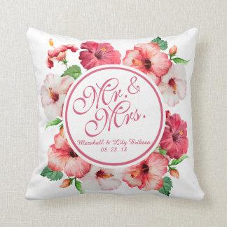 Almofada Travesseiro decorativo do Sr. & da Sra. Floral
