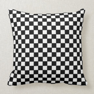 Almofada Travesseiro decorativo do tabuleiro de damas