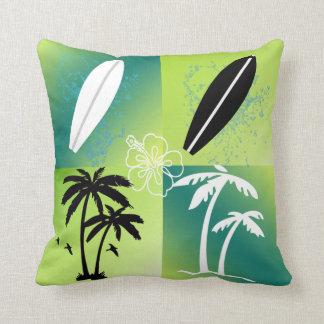 Almofada Travesseiro decorativo do tema das horas de verão