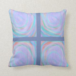Almofada Travesseiro decorativo do teste padrão do