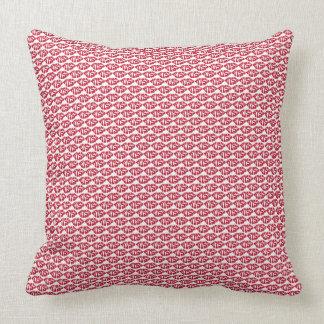Almofada Travesseiro decorativo do teste padrão do beijo