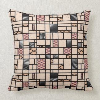 Almofada Travesseiro decorativo do teste padrão do Fishnet