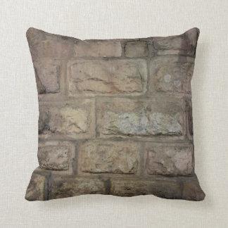 Almofada Travesseiro decorativo do tijolo, travesseiro
