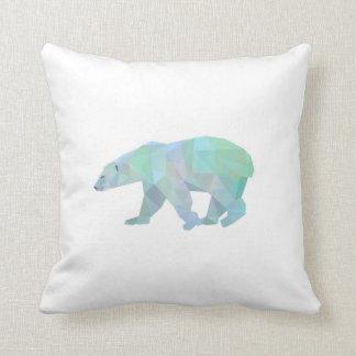 Almofada Travesseiro decorativo do urso polar de Geode