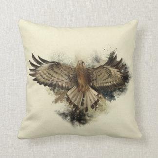 Almofada Travesseiro decorativo do vôo do falcão