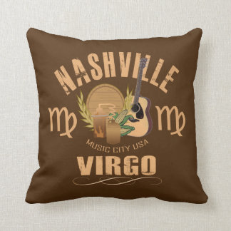 Almofada Travesseiro decorativo do zodíaco do Virgo de