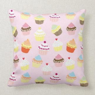 Almofada Travesseiro decorativo doce colorido do teste