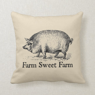 Almofada Travesseiro decorativo doce do porco do estilo do