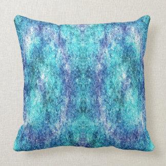 Almofada travesseiro decorativo dos azuis