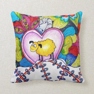 Almofada Travesseiro decorativo dos carneiros