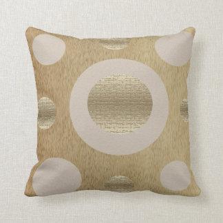 Almofada Travesseiro decorativo dos círculos