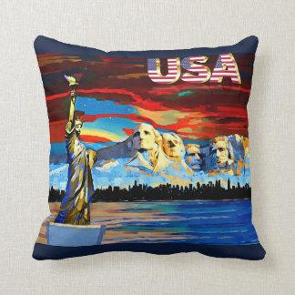 Almofada Travesseiro decorativo dos EUA