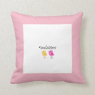 Almofada Travesseiro decorativo dos #soulsisters
