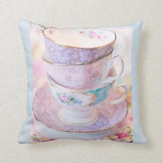 Almofada Travesseiro decorativo dos Teacups
