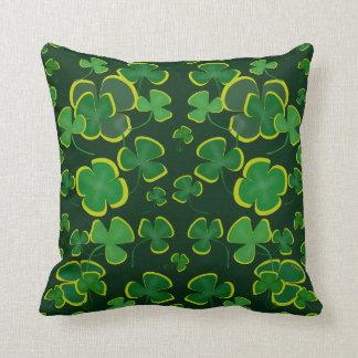 Almofada Travesseiro decorativo dos trevos