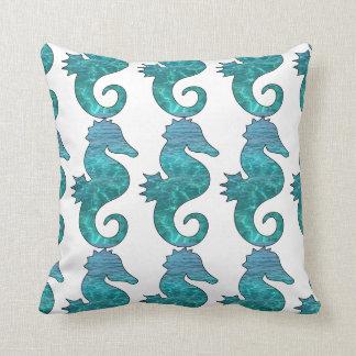 Almofada Travesseiro decorativo encaracolado do cavalo