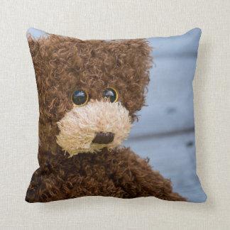 Almofada Travesseiro decorativo encaracolado do urso de