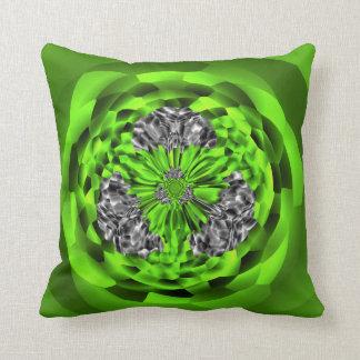 Almofada Travesseiro decorativo esmeralda do poliéster da
