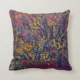 Almofada Travesseiro decorativo estilizado de florescência