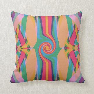 Almofada Travesseiro decorativo estranho colorido
