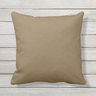 Almofada Travesseiro decorativo exterior Brown contínuo