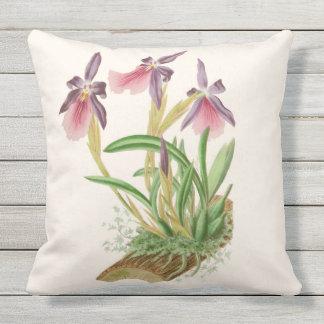 Almofada Travesseiro decorativo exterior das orquídeas da
