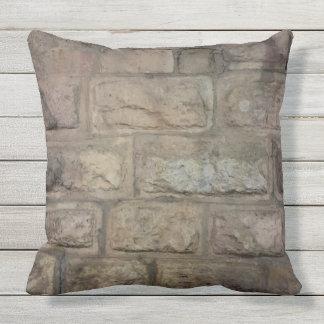 Almofada Travesseiro decorativo exterior do tijolo,