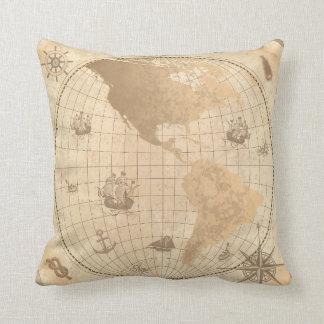 Almofada Travesseiro decorativo exterior do vintage