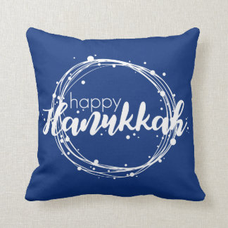 Almofada Travesseiro decorativo feliz do feriado das bolhas