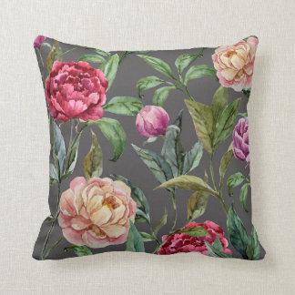 Almofada Travesseiro decorativo floral boémio do coxim