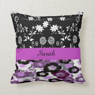Almofada travesseiro decorativo floral conhecido