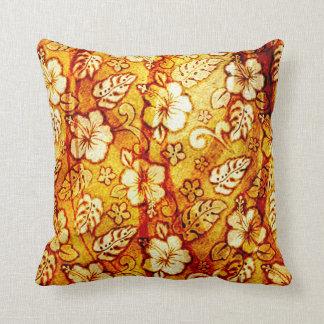 Almofada Travesseiro decorativo floral do algodão,