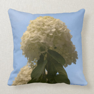 Almofada Travesseiro decorativo floral do Hydrangea branco