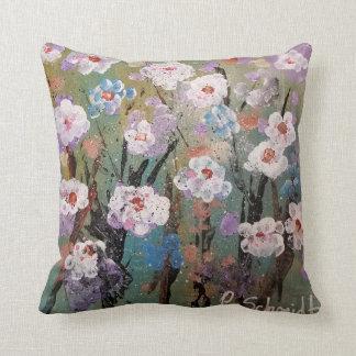 Almofada Travesseiro decorativo floral do primavera