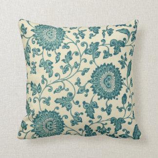 Almofada Travesseiro decorativo floral do teste padrão do