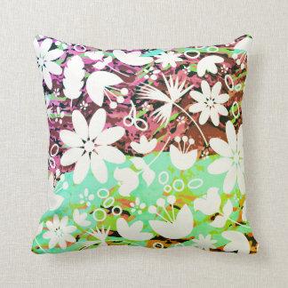 Almofada Travesseiro decorativo floral Funky