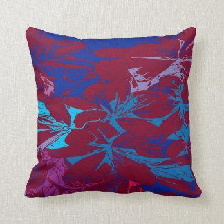 Almofada Travesseiro decorativo floral moderno
