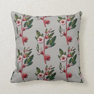 Almofada Travesseiro decorativo floral retro do Sprig