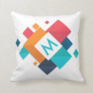 Almofada Travesseiro decorativo geométrico abstrato
