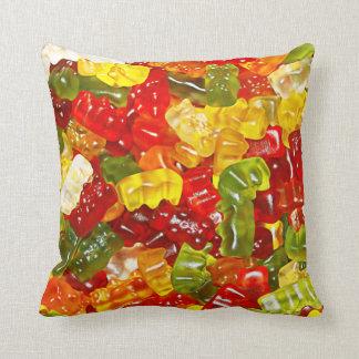 Almofada Travesseiro decorativo gomoso dos doces do urso