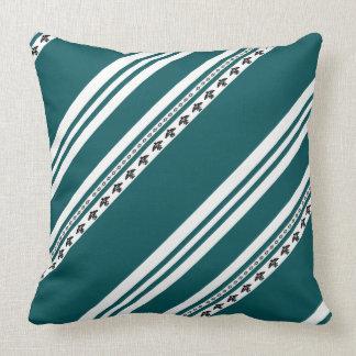 Almofada Travesseiro decorativo indiano americano da listra