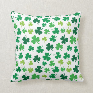 Almofada Travesseiro decorativo irlandês do trevo