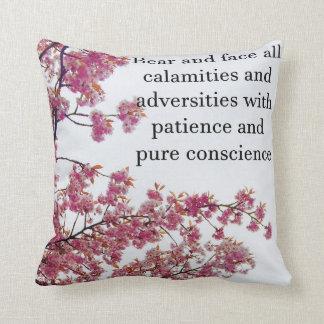 Almofada Travesseiro decorativo japonês da cereja