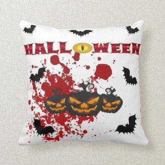 Almofada Travesseiro decorativo mau do Dia das Bruxas da