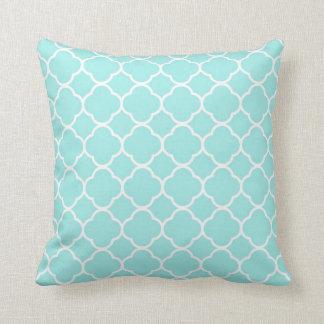 Almofada Travesseiro decorativo moderno do abstrato do azul