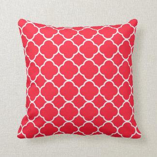 Almofada Travesseiro decorativo moderno vermelho de