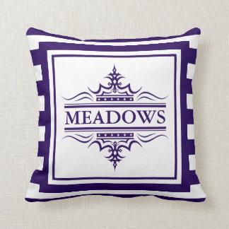 Almofada Travesseiro decorativo náutico elegante dos azuis