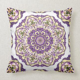 Almofada Travesseiro decorativo oriental floral do teste