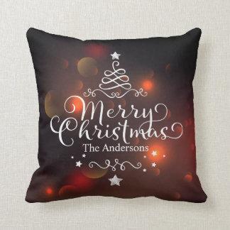 Almofada Travesseiro decorativo personalizado da árvore |